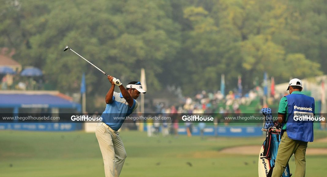 Young Indian golfer Khalin Joshi produced a scintillating back-nine performance in the final round to steal the title of the Panasonic Open India from Bangladesh's Siddikur Rahman in a thrilling finish at the Delhi Golf Club recently.