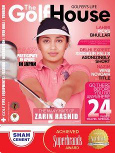 Golf magazine Cover November 2018-01