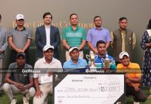 Bangladesh Professional Golfers' Association organised the tournament, sponsored by Gemcon Group