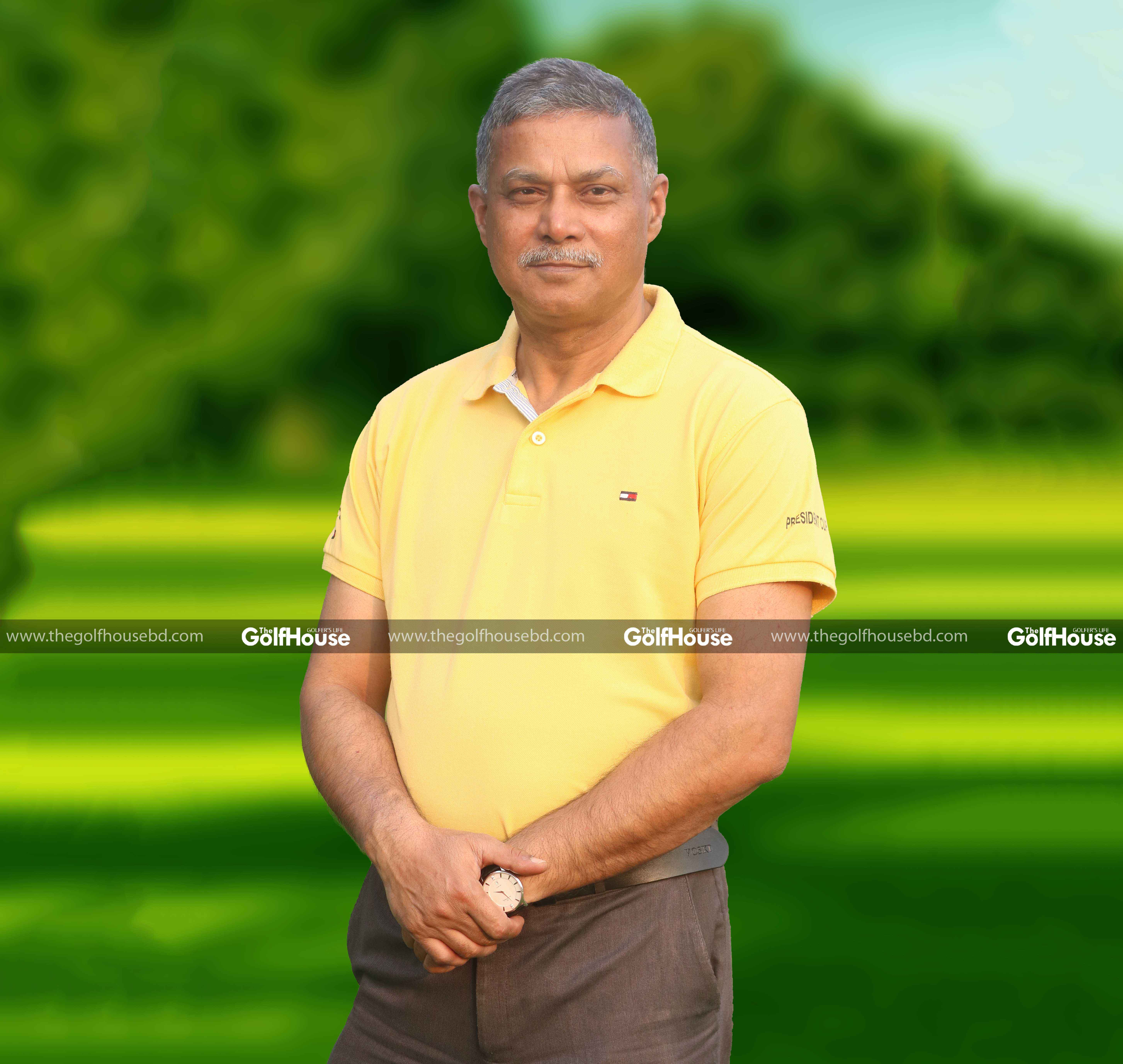 Brigadier General Shahidullah Chowdhury (retd) is the Executive Director of Abul Khair Group. As a retired army person, golf is part of his life. He is at the forefront of the company's golfing events which take place at various clubs across the country.