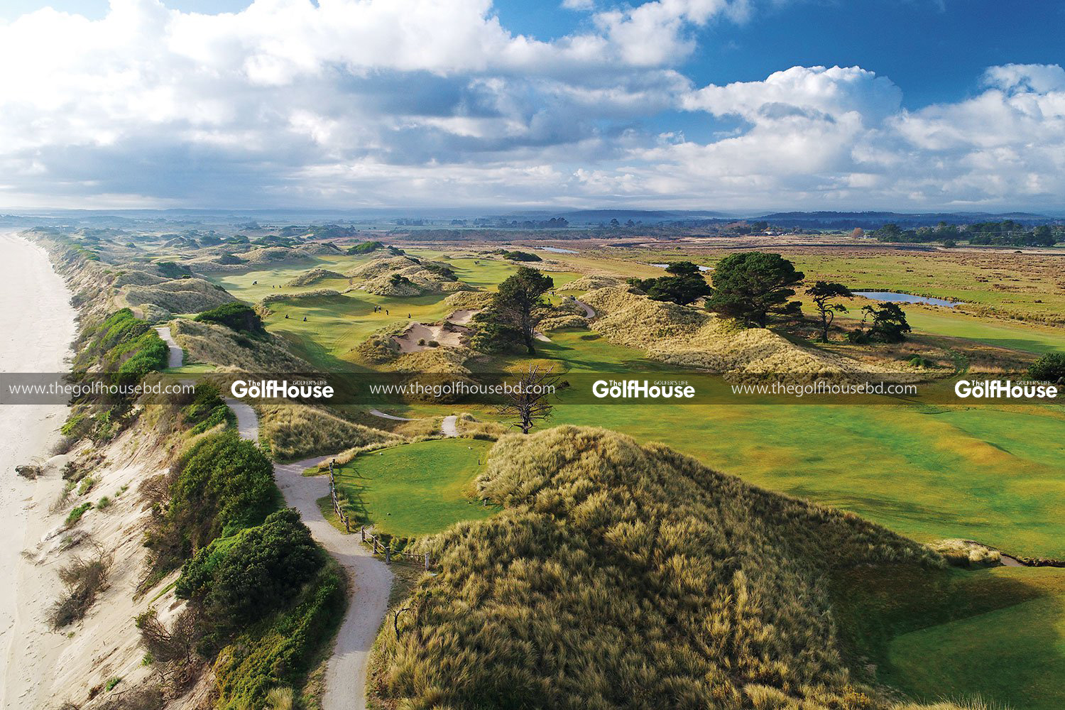On the Northeast coast of Tasmania there's a hidden gem that is one of the world's top golf destinations: Barnbougle Links Golf Resort.