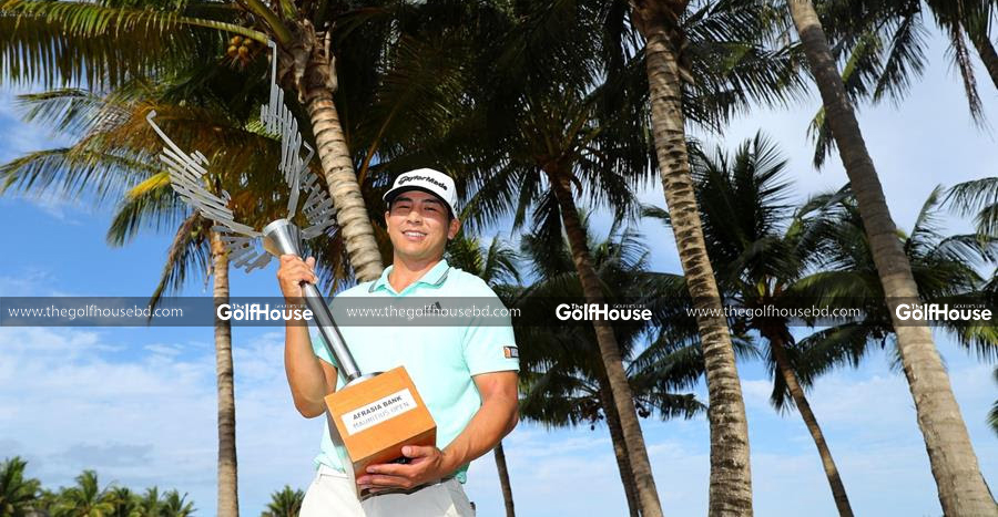 The two-time Asian Tour winner exchanged seven birdies for a single bogey at the Four Seasons Golf Club in Anahita on Sunday to rack up an aggregate score of nine-under-par (279).