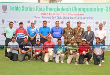SWEET SUCCESS FOR SHAHAB AT FALDO SERIES BANGLADESH CHAMPIONSHIP