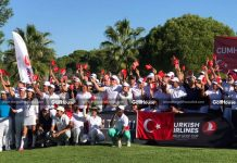 A VISIT TO ANTALYA FOR TURKISH AIRLINES WORLD GOLF CUP