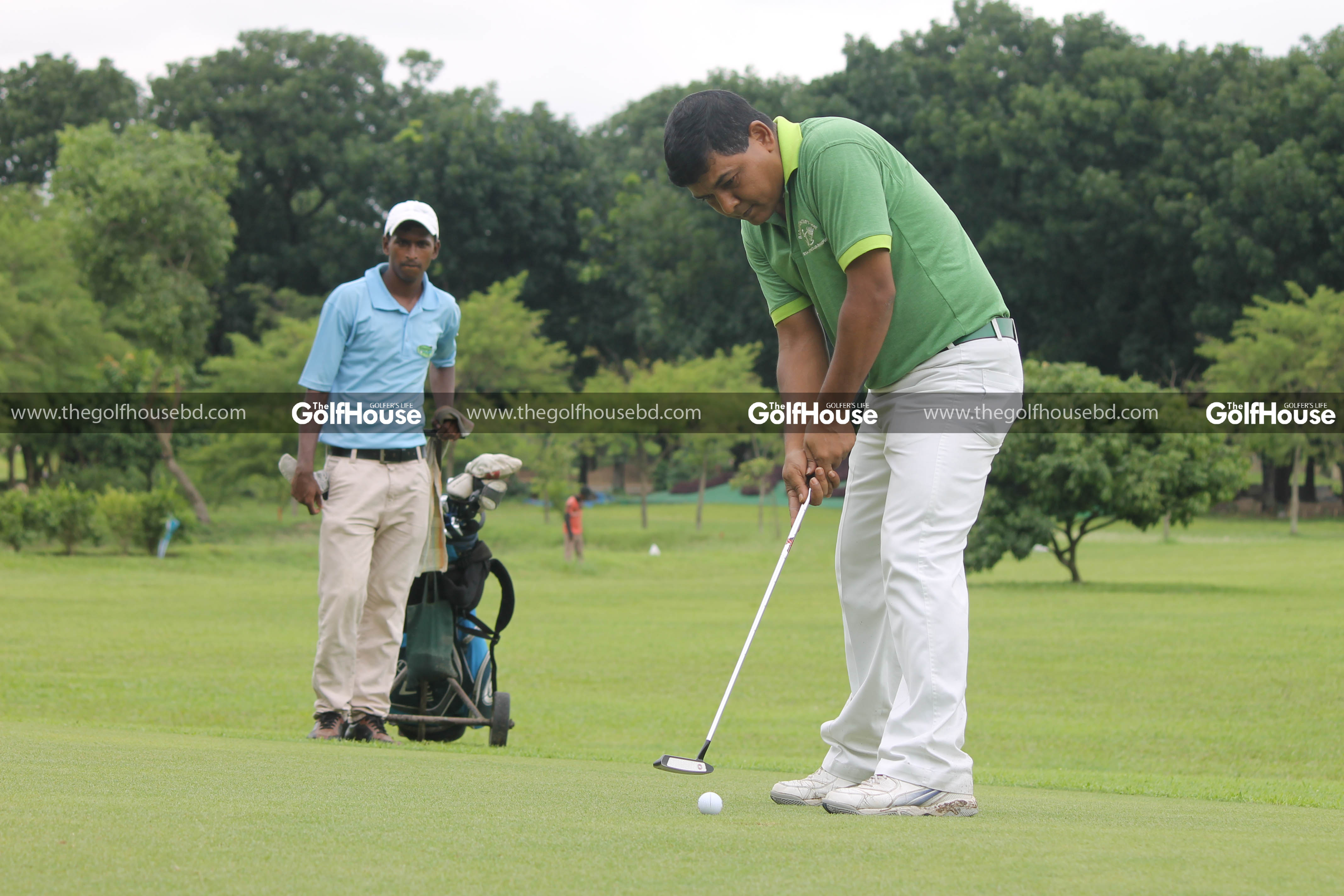 Colonel Mamun Chowdhury is a keen golfer and ex-member secretary of Rangpur Golf & Country Club. He was an integral part of the whole process of turning a marshy land in Rangpur which is now the beautiful Rangpur Golf and Country Club.