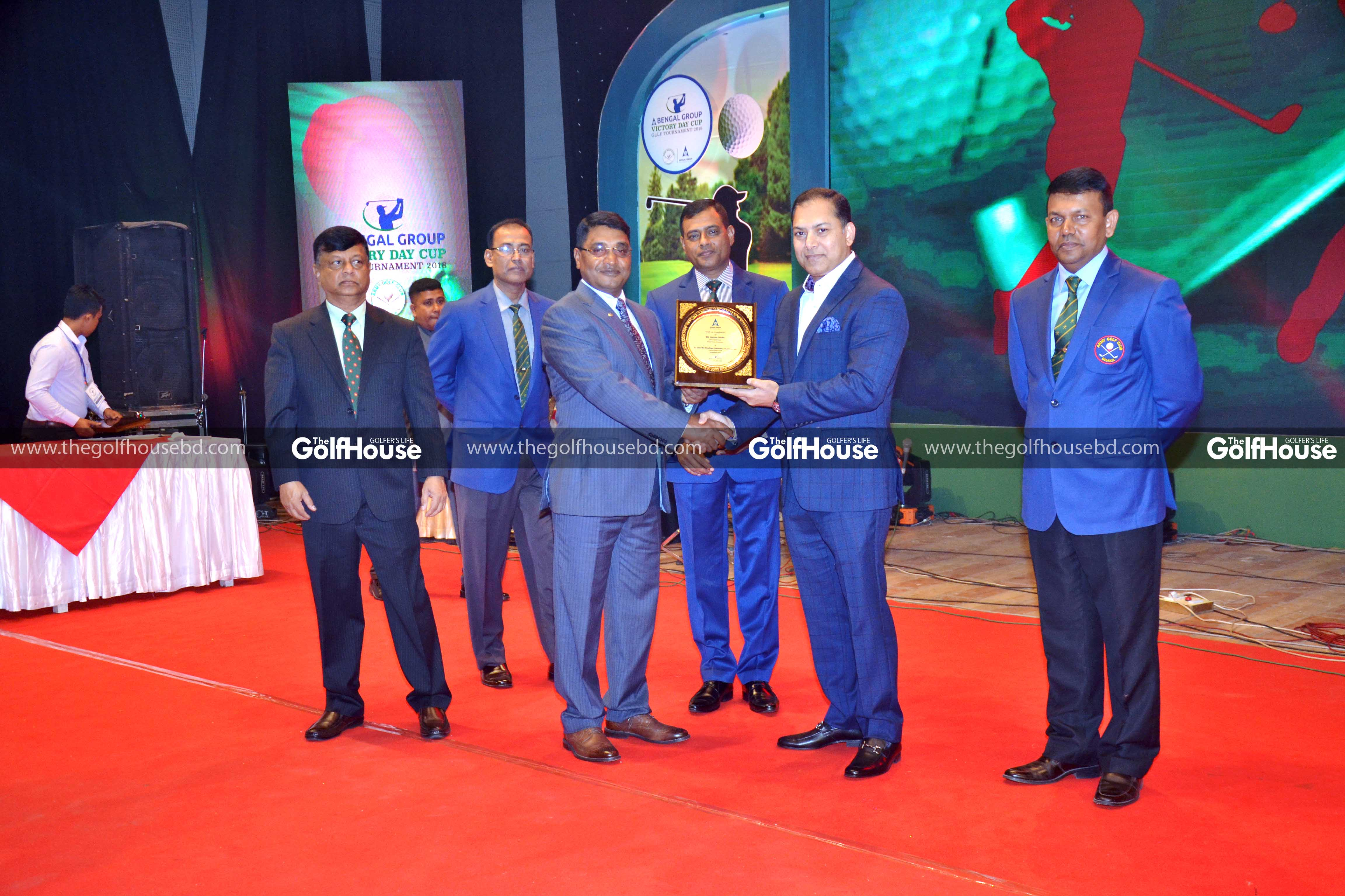 Lieutenant General Md Shafiqur Rahman, Chief of General Staff, Bangladesh Army gave away prizes among the winners as the chief guest of the closing ceremony.