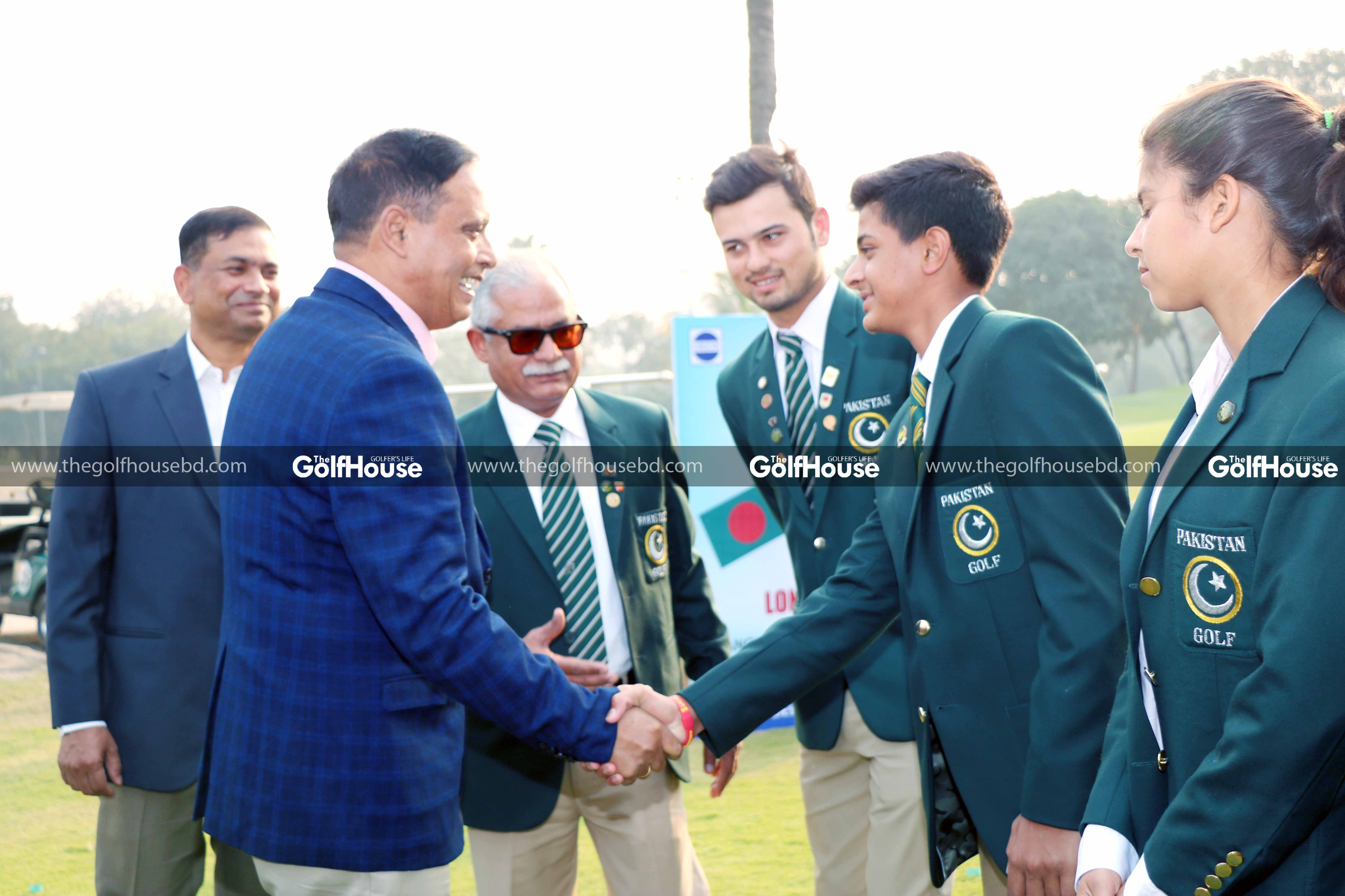 The tournament was inaugurated by Major General Md Enayet Ullah, Senior Vice President of Bangladesh Golf Federation where Brigadier General Md Sayeed Siddiki, Secretary General of Bangladesh Golf Federation, was present as the chief guest.