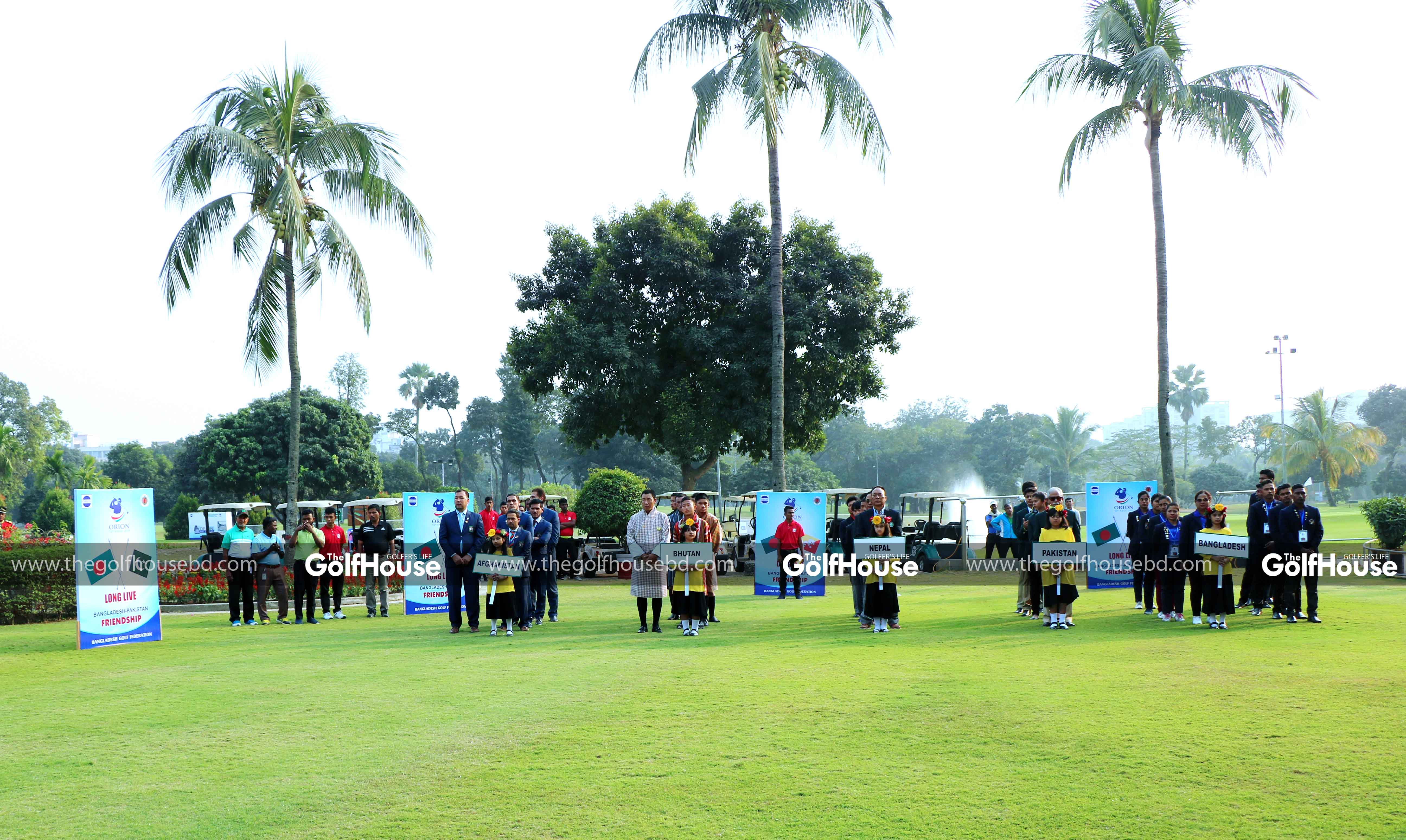 The Orion 34th Bangladesh Amateur Championship 2019 was held at the Kurmitola Golf Club in Dhaka from 15 to 18 January.