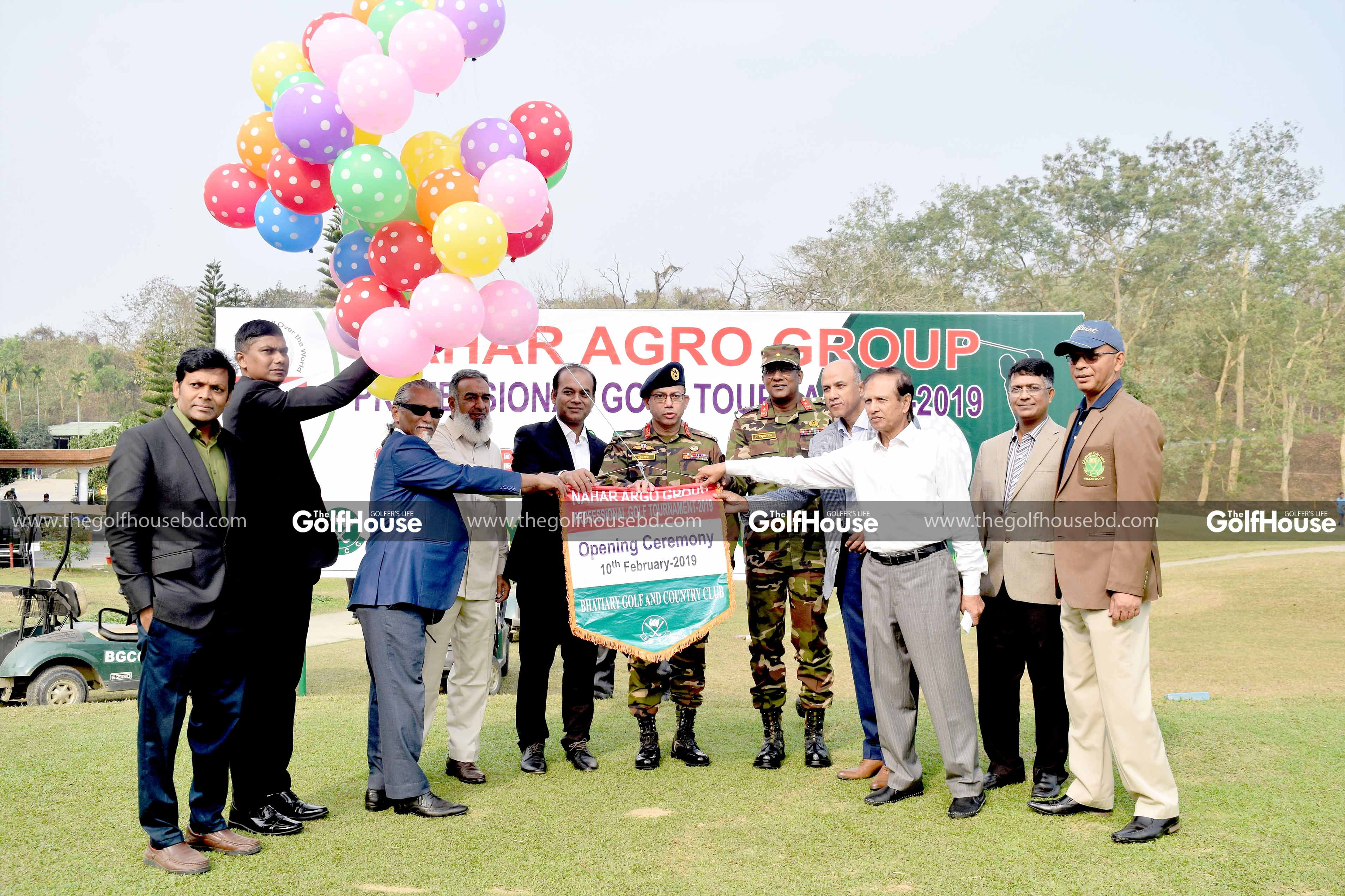 2ND NAHAR AGRO PROFESSIONAL GOLF TOURNAMENT 2019