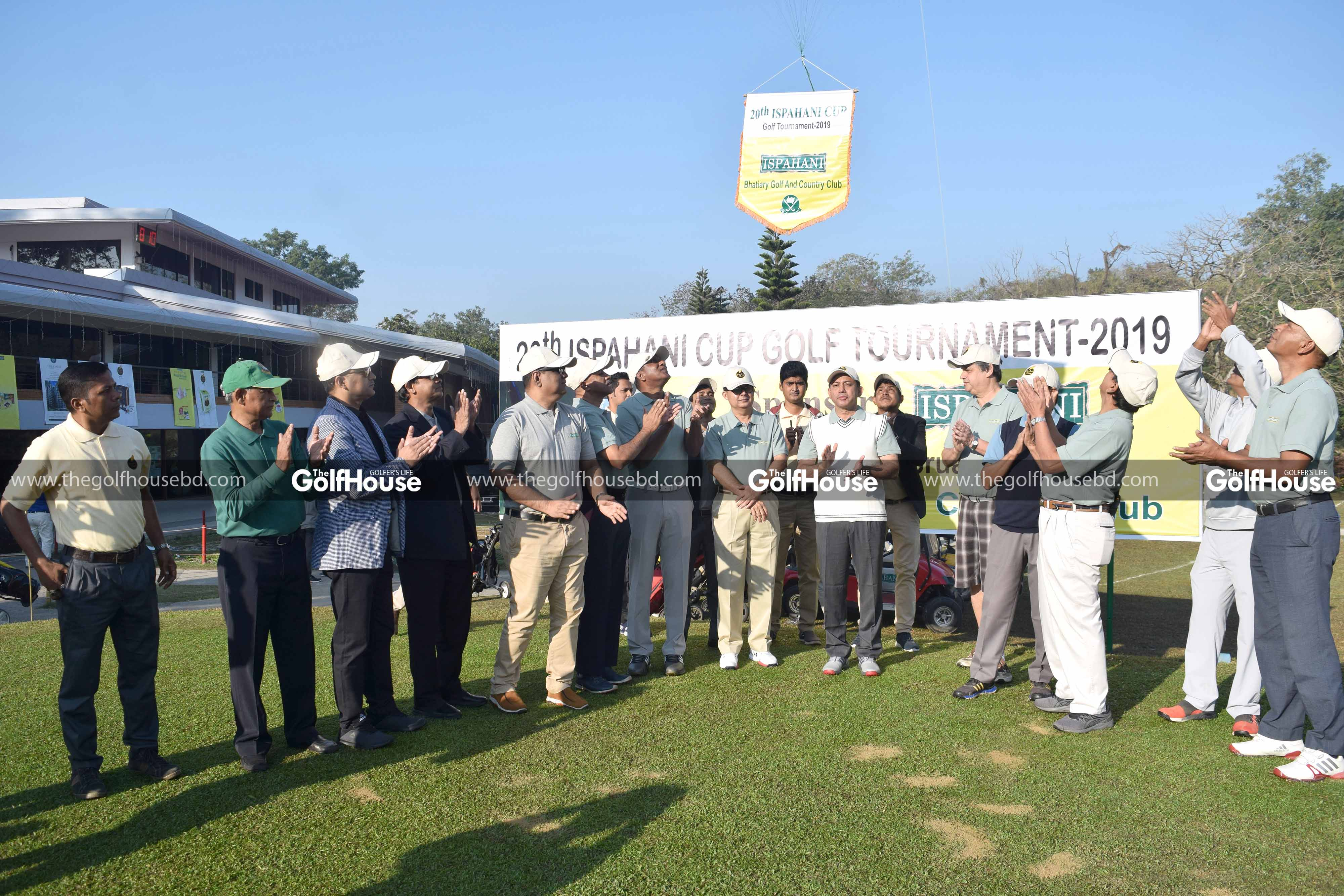 20TH ISPAHANI CUP GOLF TOURNAMENT HELD