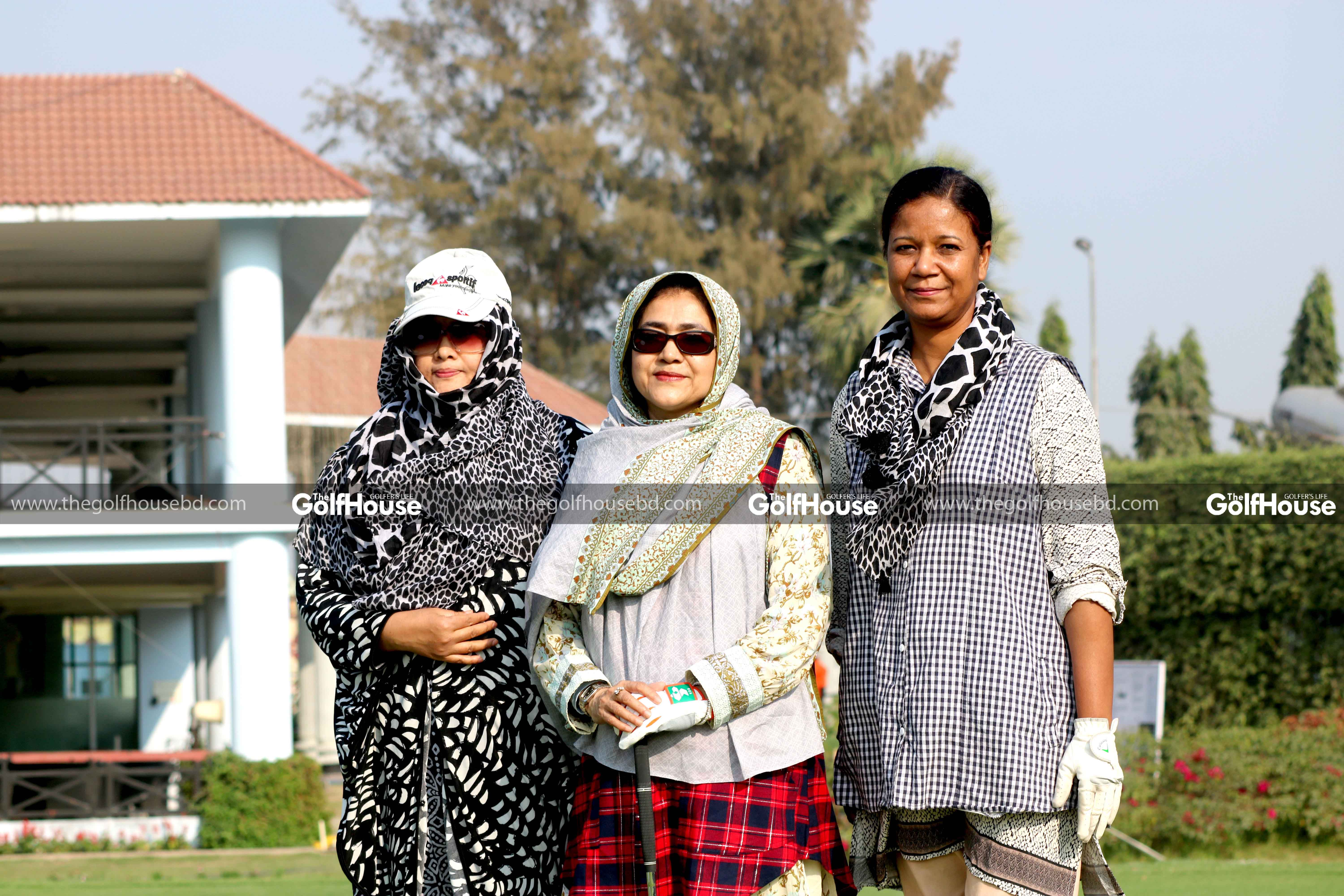 I got involved since women's golf started in Bangladesh. In 2002, AOC Zahur Bhai started women's golf. He used to look after everything and did a lot for the development.