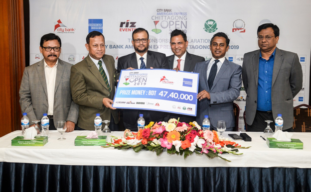 The Co-sponsors of the tournament are BSRM & Elite Paints. The other partners of the tournament are Ispahani, Polar Ice Cream, & The Avenue Hotel & Suites. The title sponsorship of the tournament was declared at a press conference recently which was attended by (Left to Right) Maj Golam Morshed (Retd), Joint Secretary, BPGA, Maj Md Emdadul Islam, Chairman Legal & Media Committee, BGCC, Lt Col Khandaker Abdul Wahed (Retd), President, BPGA, Mr. Rizwan Bin Farouq, Chairman, Riz Events, Mr. Sheikh Mohammad Maroof, Deputy Managing Director and Head of Wholesale Banking & Micro Finance, Mr. Md Abul Hasnat, Assistant General Manager, Key Account Management, Sales & Marketing, BSRM